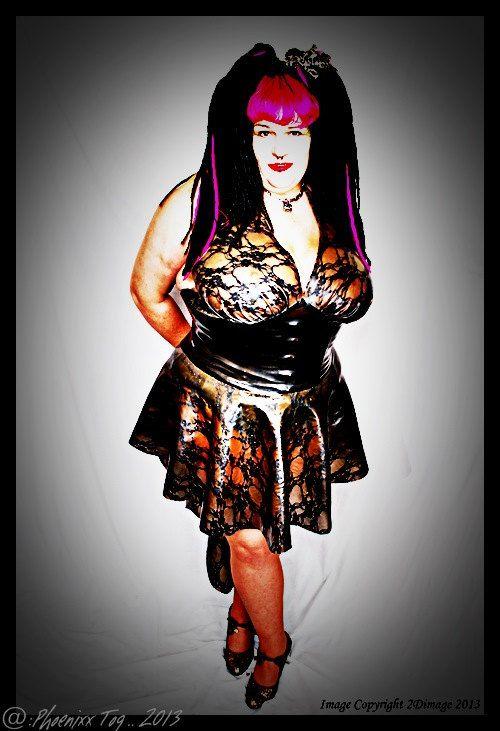 Phoenixx Designs * Lorena Dress * Plus size BBW Uk Dress size 14 16 ...