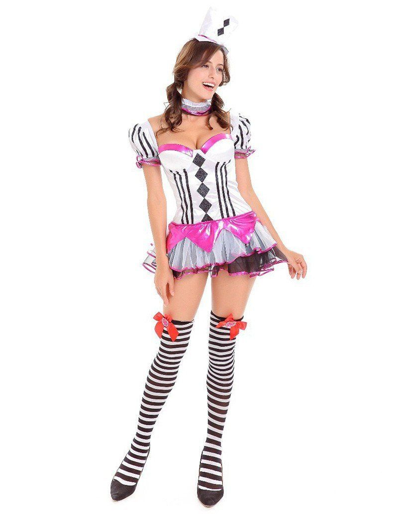 Circus Fancy Dressy Womens Adult Halloween Dance Party