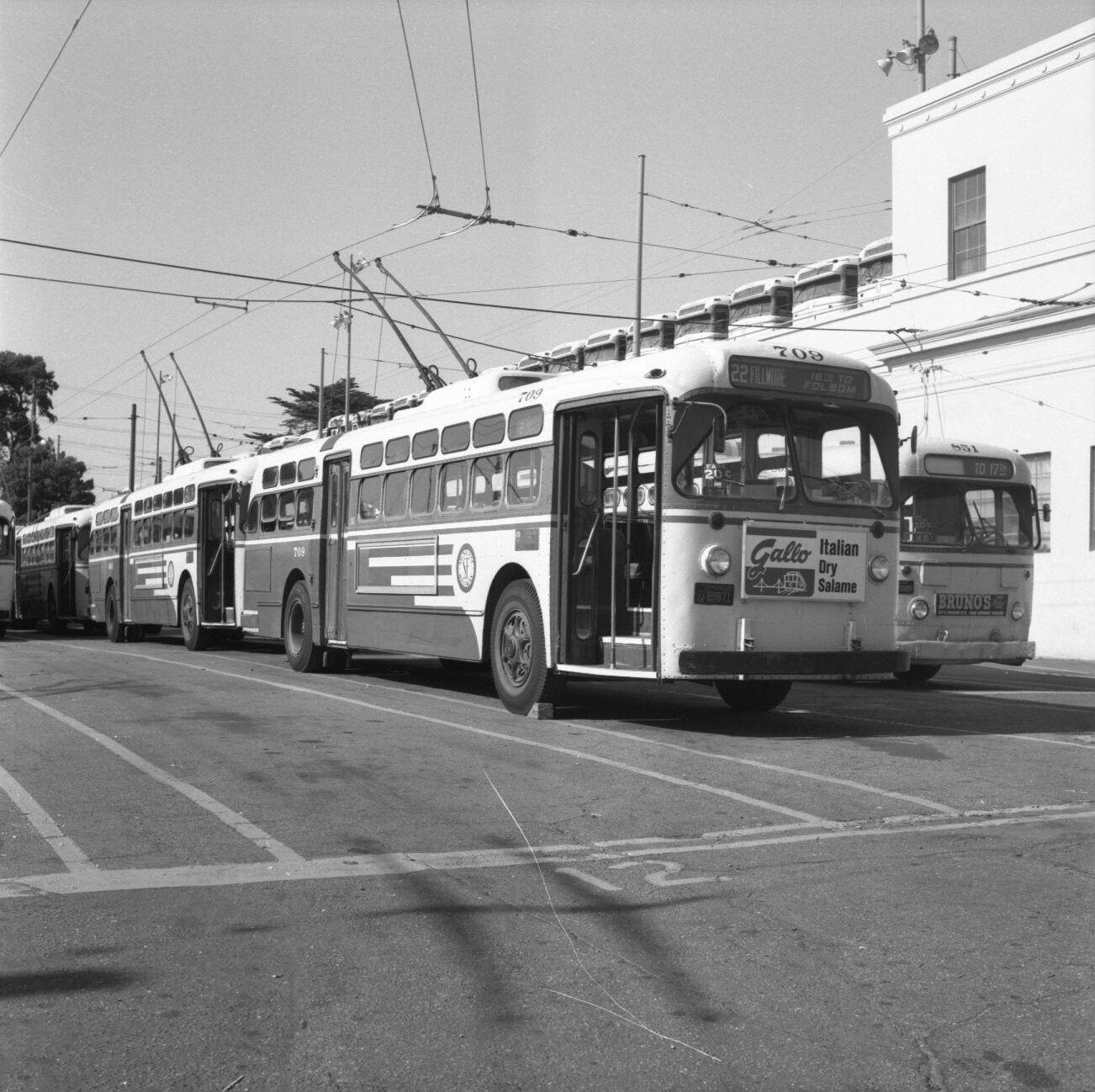 San Francisco Muni Marmon Herrington trolley coach