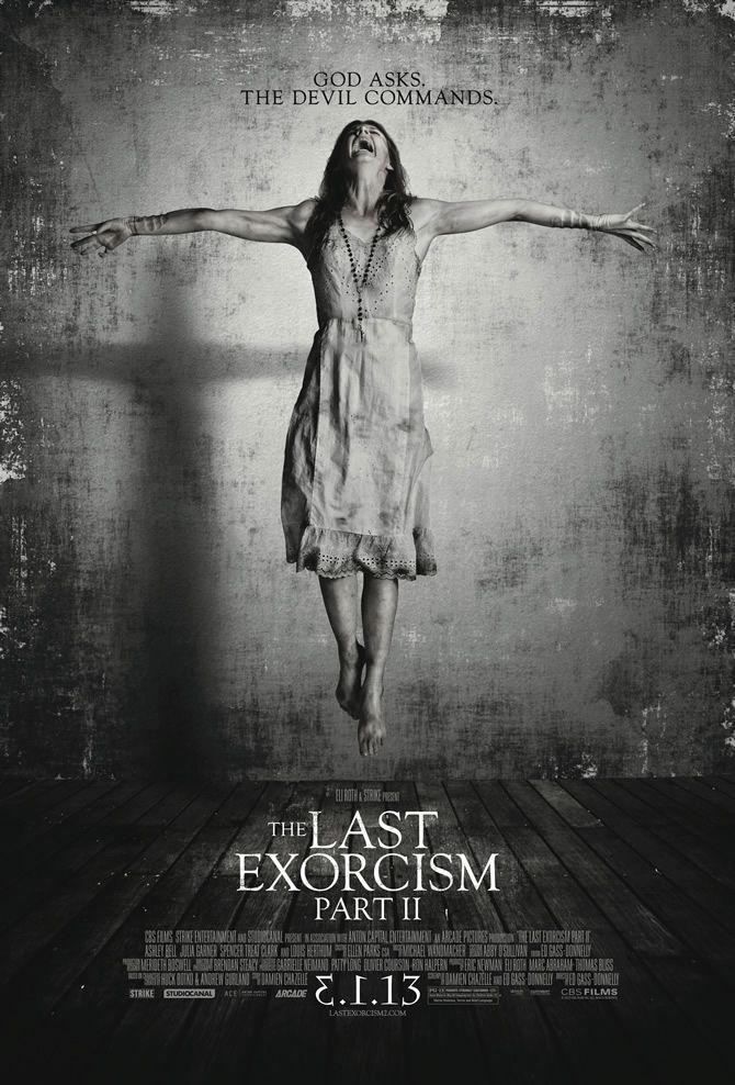 The Last Exorcism Part 2 poster - God Asks. The Devil Commands