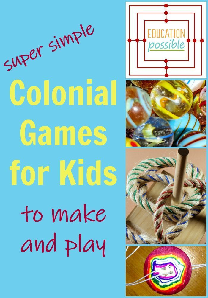 Photo of Fun Colonial Games for Children to Play