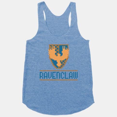 8 Bit Ravenclaw | HUMAN | T-Shirts, Tanks, Sweatshirts and Hoodies