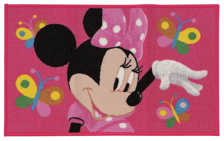 Kinder Teppich Kinderteppich Minnie Mouse / Butterfly ...