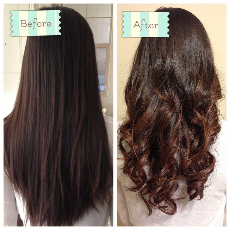 Partial Perm Google Search Straight Hair Perm Permed Hairstyles Long Hair Styles