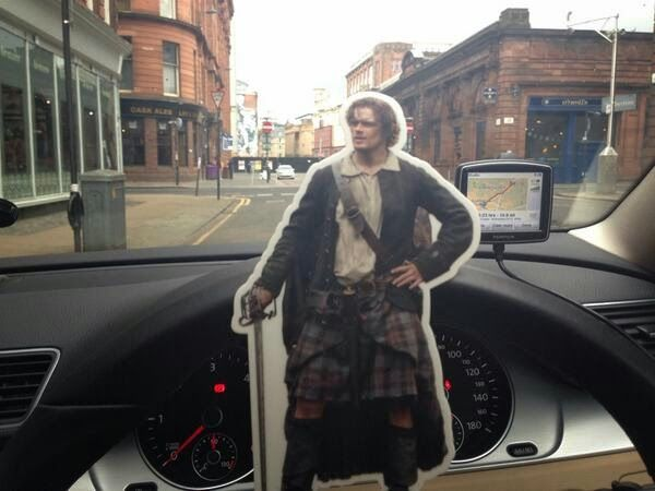 News From the 'Outlander' Set: St Patrick's Day Edition and Farewell Richard Clark!