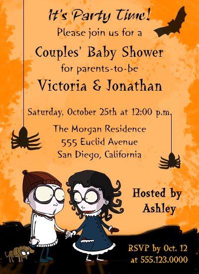 Cute and Fun Halloweenthemed Baby Shower Ideas Babies