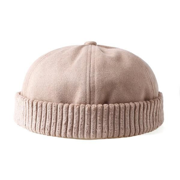 cd6460dd Retro Rolled Cuff Brimless Hat Skullcap. Retro Rolled Cuff Brimless Hat  Skullcap Hats For Big Heads, Hat Size Chart, Sailor
