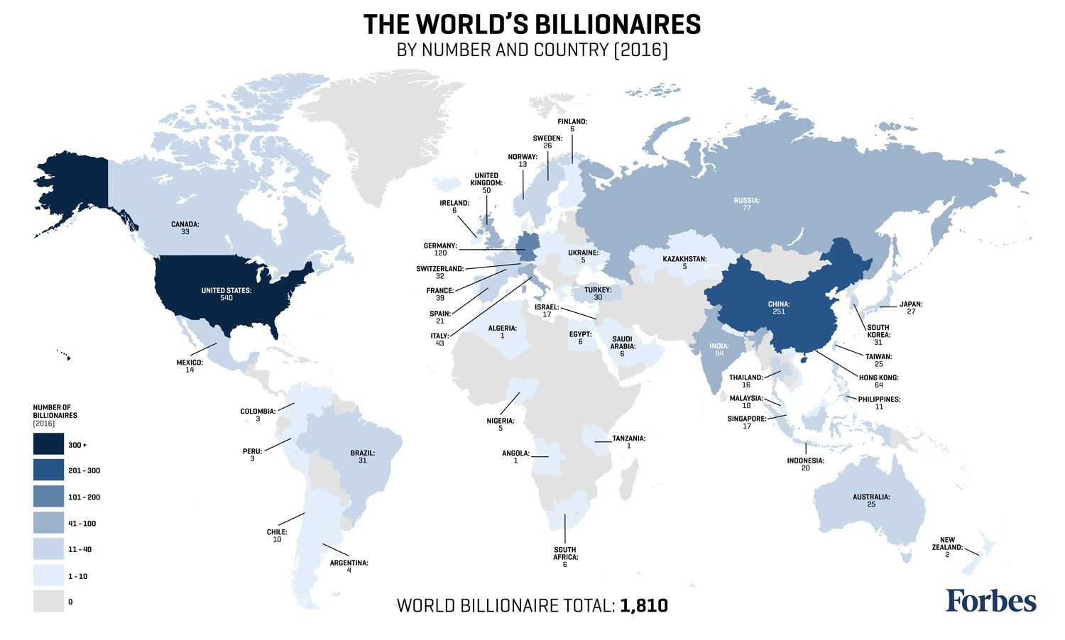 Billionaires list map 2016 billionaire population by country billionaires list map 2016 billionaire population by country gumiabroncs Image collections