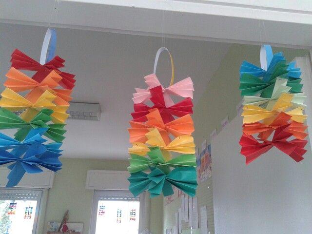 Decorazioni carnevale noemi pinterest for Addobbi scuola infanzia