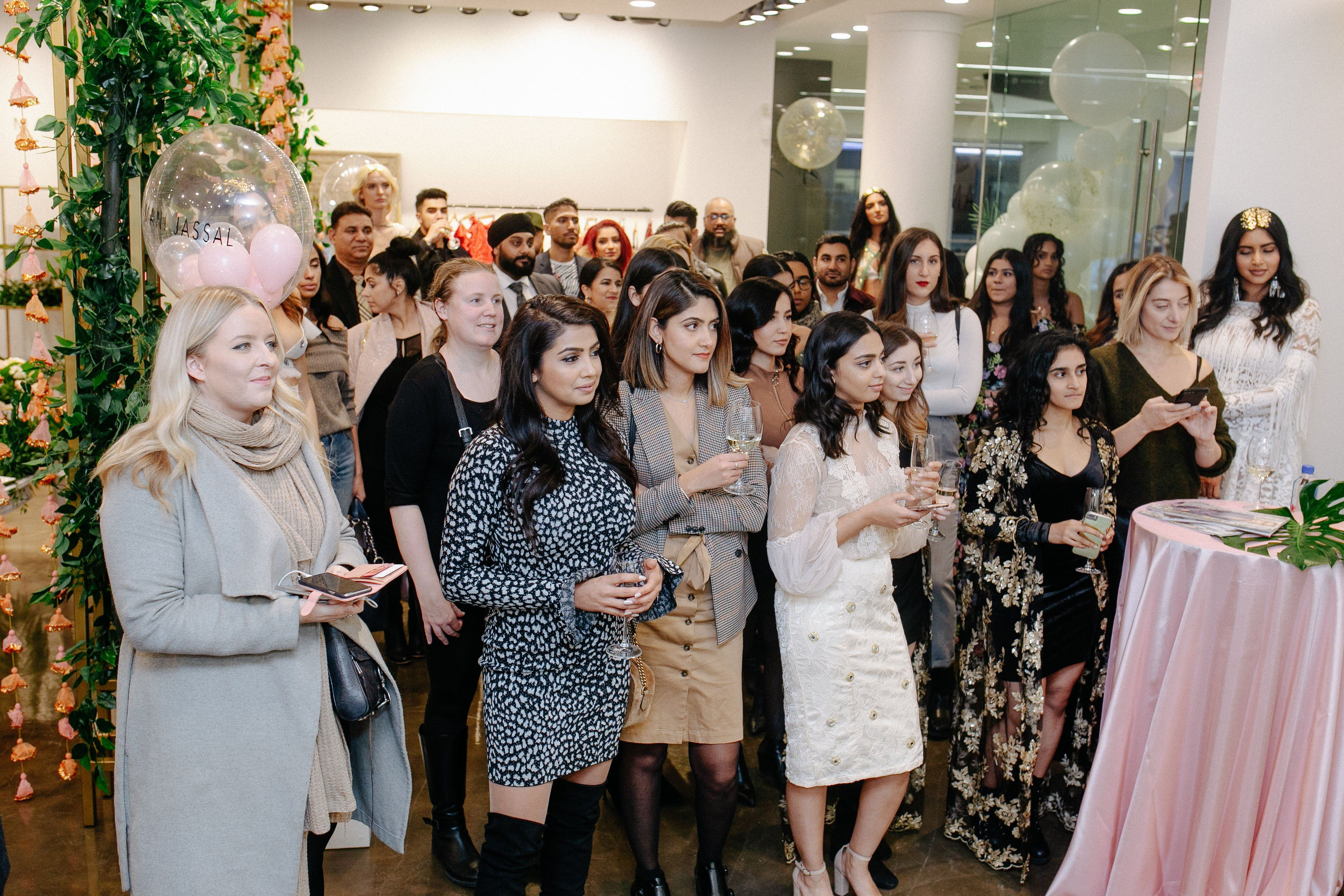 MANI JASSAL Yorkville Launch Event with ELLE Canada
