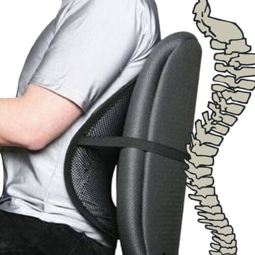 Mesh Lower Back Support Cushion With Massage Beads For Car And Office Back Braces Supports Back Massagers Massage Therapy Equipment Orthopedic Braces S Office Chair Back Support Work Chair Mesh Chair