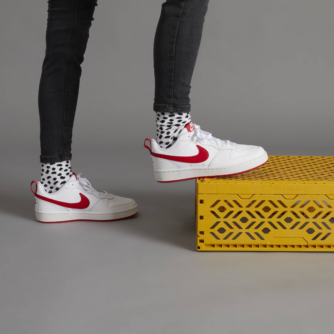 Witte Nike Court Borough Low 2 sneaker, €44,99 in 2020