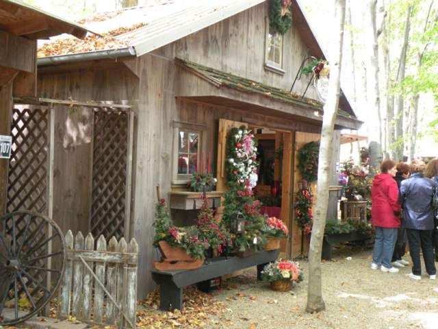 Christmas In The Woods.Old Fashioned Christmas In The Woods Columbiana Oh