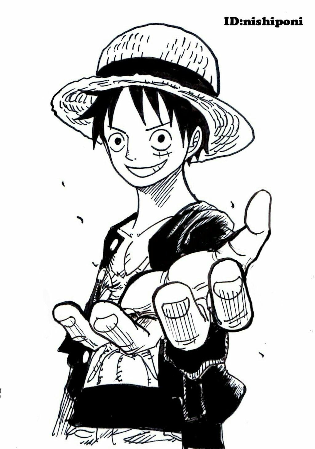 Luffy   give me your hand  bb04a182ee4