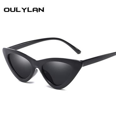 cfb32e2d6d Oulylan Cat Eye Sunglasses for Women Brand Designer Festival Sun Glasses  Female Fashion Cateyes Sunglass Shades