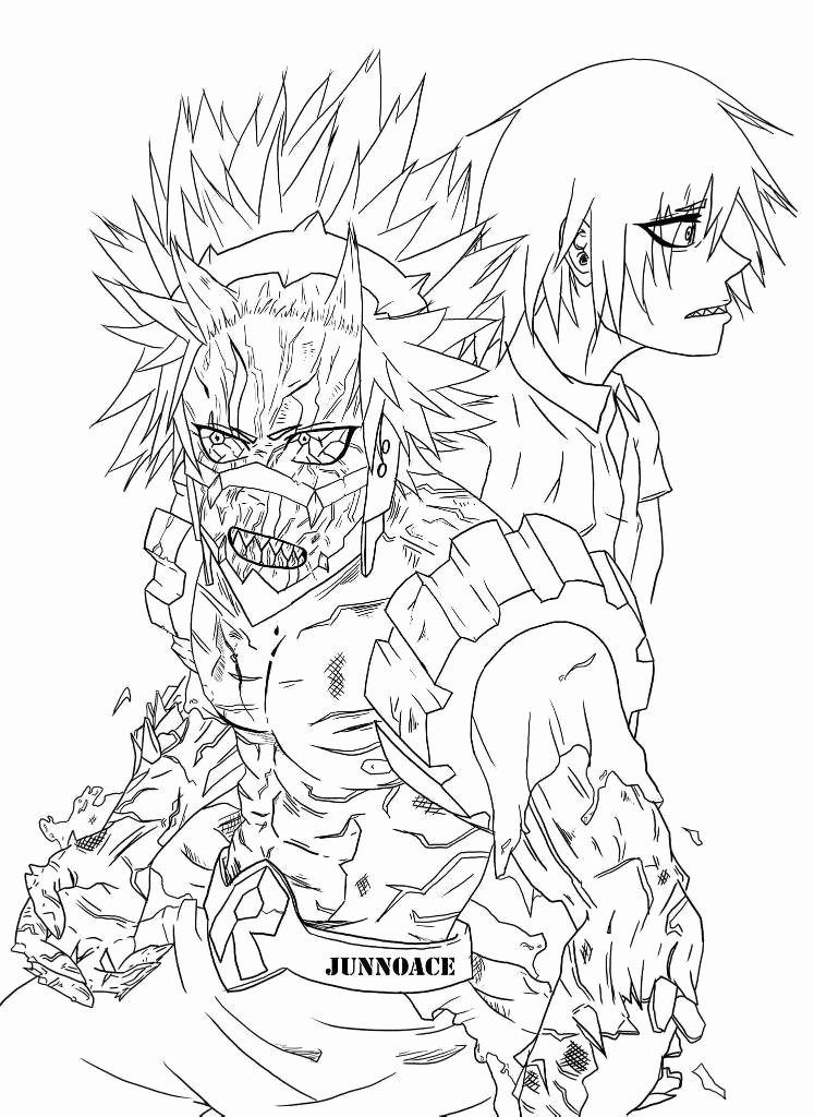 My Hero Academia Coloring Page Beautiful Unbreakable Kirishima Lineart Done Coloring Pages Horse Coloring Pages Paw Patrol Coloring Pages