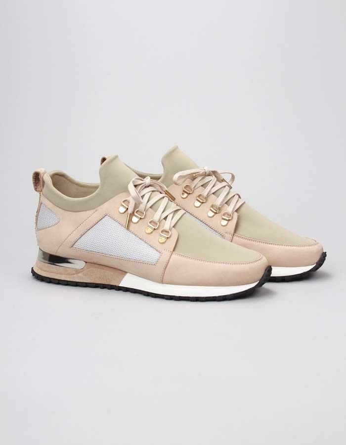 new products 8cf40 f6175 Mallet Footwear Beige Hiker Trainers  Accent Clothing Dress With Sneakers,  Trainers, Sweatshirt,