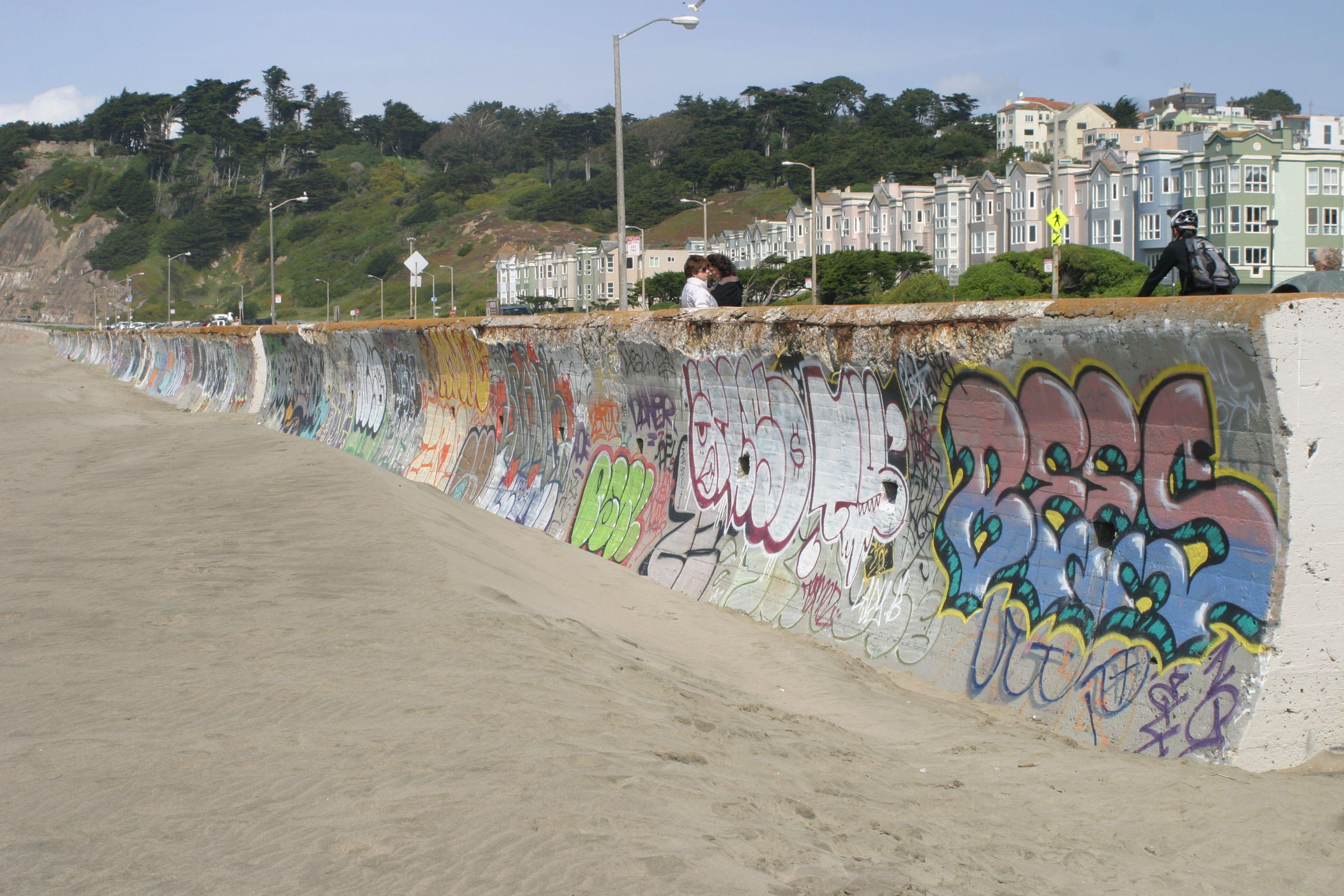 Ocean Beach Graffiti San Francisco