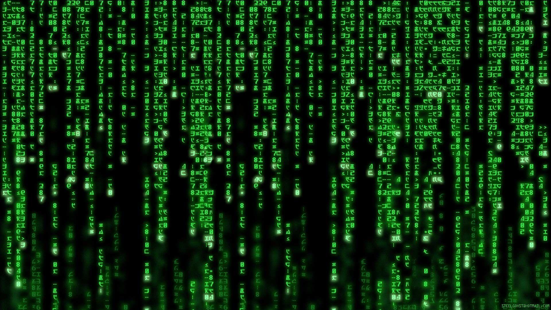 Matrix Generation Code Wallpaper Matrix Green Aesthetic