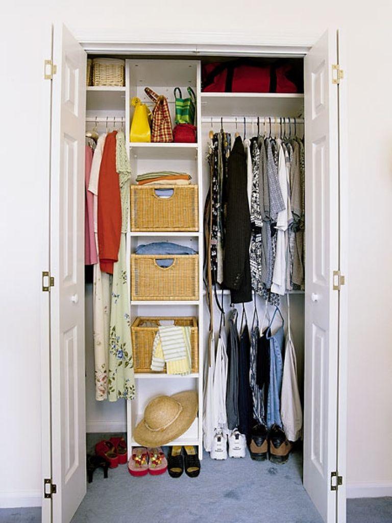 Kleine Schlafzimmer Kleiderschrank Design Ideen #Schlafzimmer