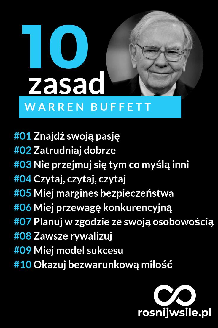 cce0a9181 10 zasad sukcesu według Warren Buffett #rozwój #motywacja #sukces  #pieniądze #inspiracja #rosnijwsile #billionaire #rich #investor #blog  #biznes #zasady # ...