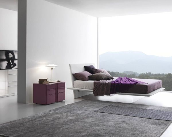 Plana (Presotto) Products available through Selene www - ideen moderne schlafzimmergestaltung lamellenwand
