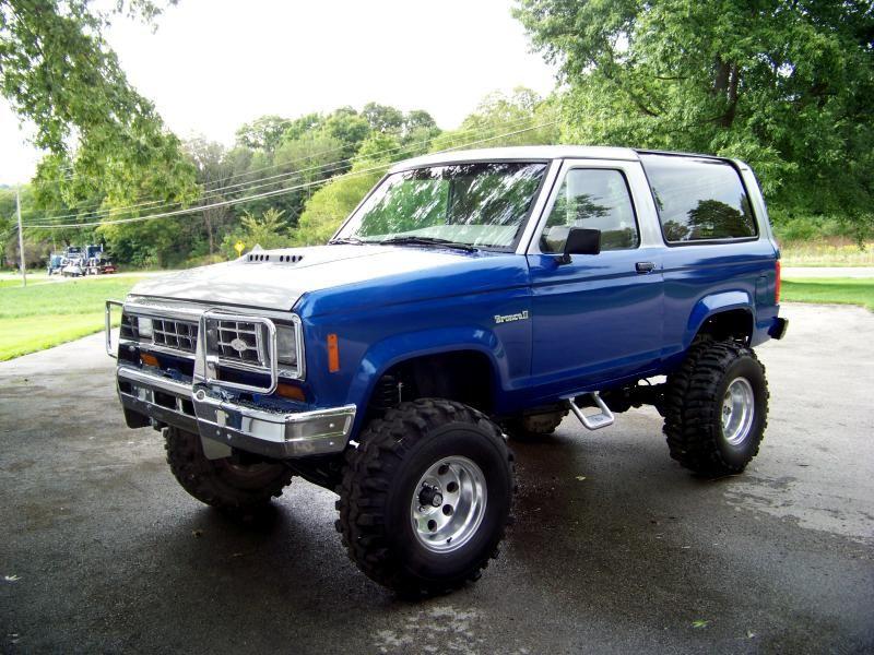 The Junkyard Spare Parts Bronco Ii Bronco Ii Ford Trucks Lifted Ford Trucks