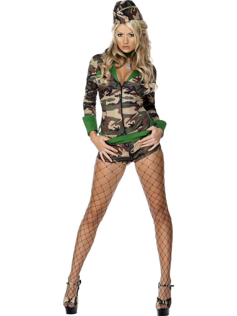 Disfraz de militar para mujer  201ecc437bae