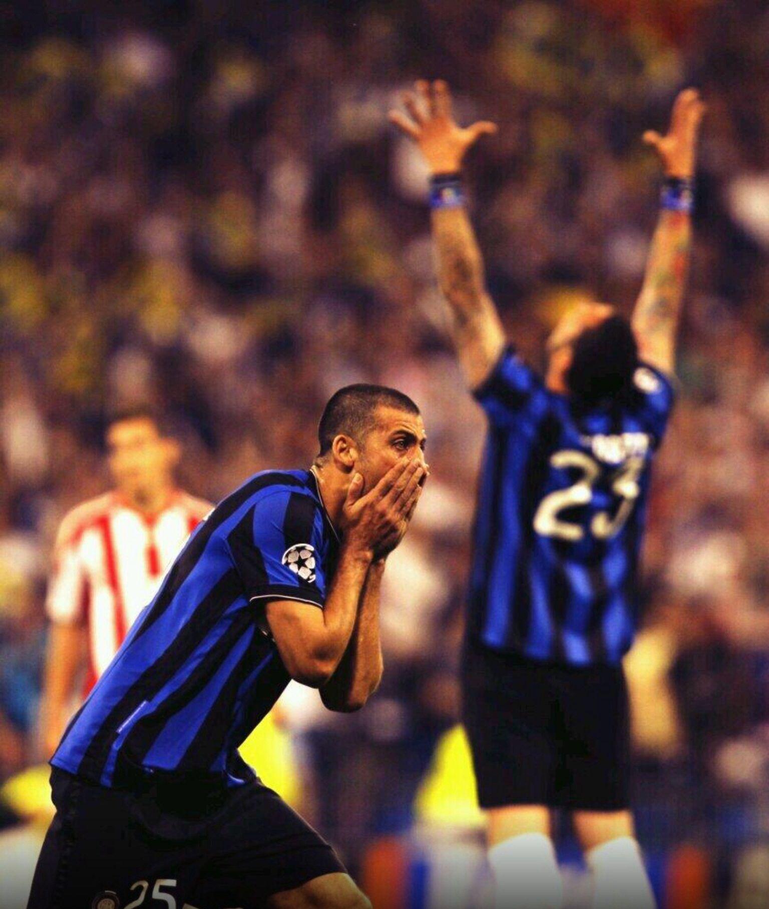 """""""The wall"""" Walter Samuel (Inter Milan, 2005–2014, 172 apps, 13 goals)"""