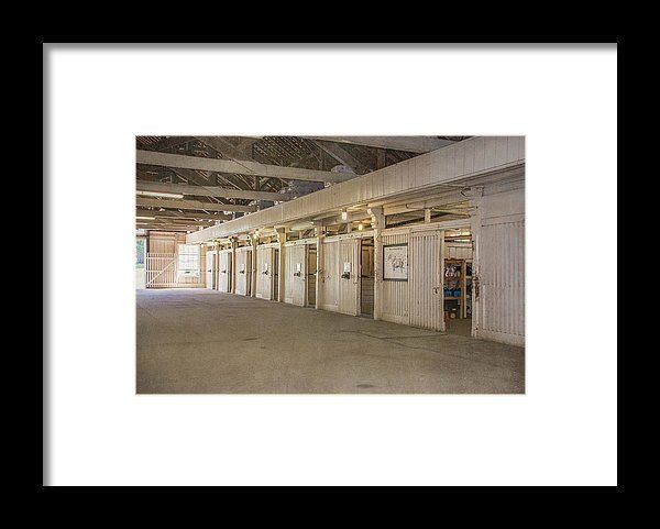 Stable Framed Print featuring the photograph The Stables by Pamela Williams