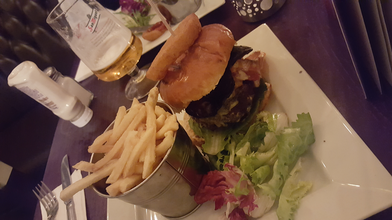 Great burger at Duttons in Chester