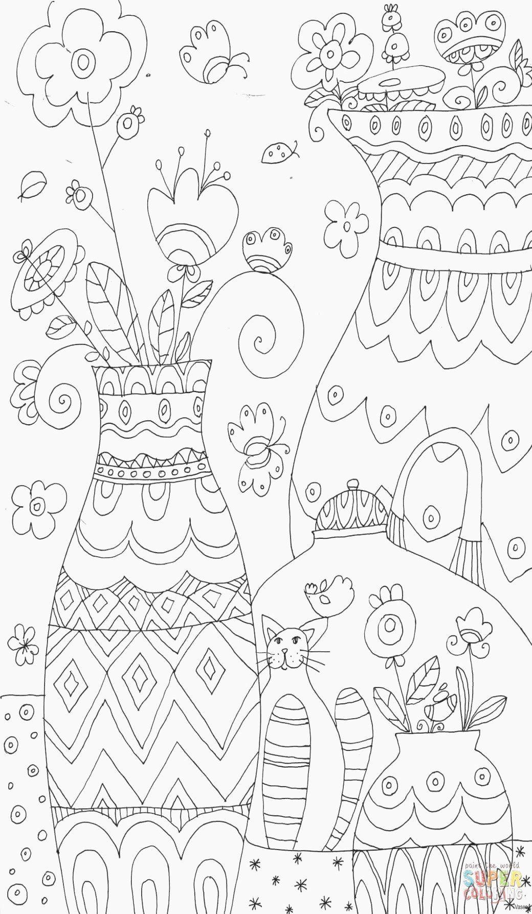 Printable Coloring Pages Spring Di 2020 Dengan Gambar Kawaii Manga