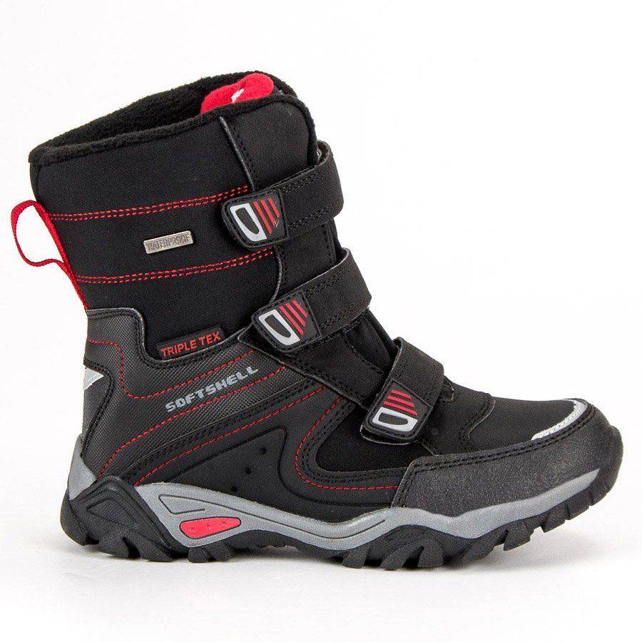 Kozaki Dla Dzieci Americanclub American Club Czarne Sniegowce American Boots Winter Boots Childrens Boots