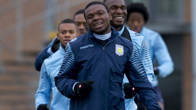 Leicester v Villa training pictures: Players prepare for Foxes