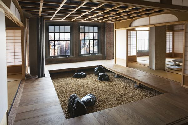 Anese Styled Loft Apartment New York City Designed By Joinery Structures Oakland Ca