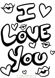 Kleurplaten Van Love You.Afbeeldingsresultaat Voor Kleurplaten Love You Alicia Coloring