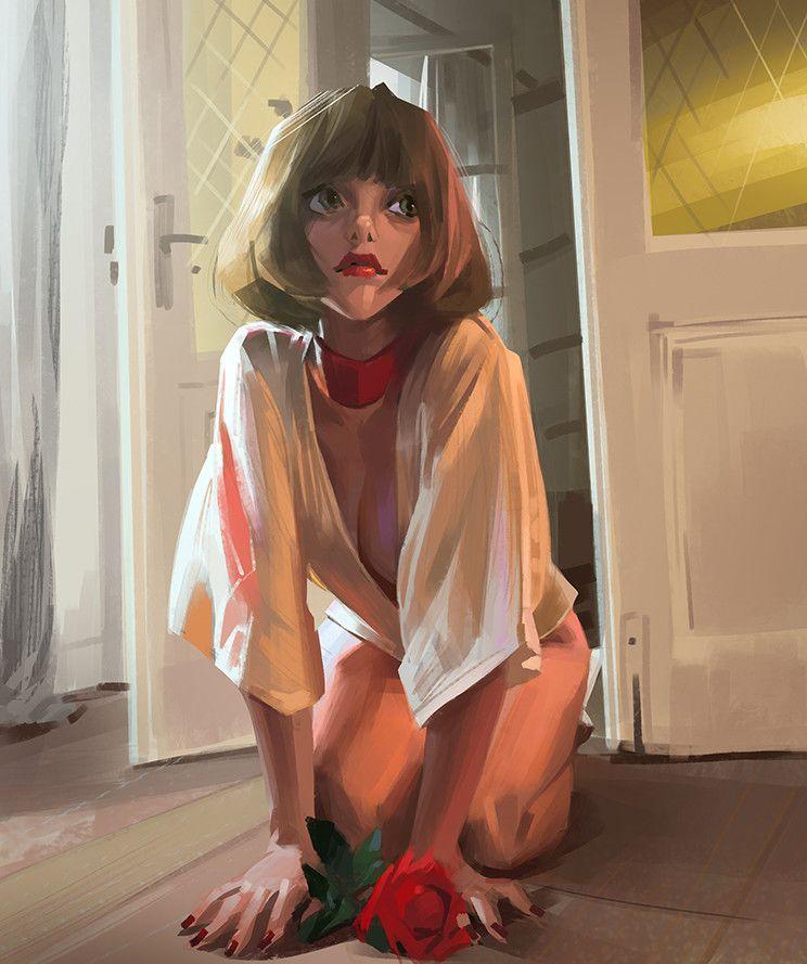 sketch 8, Li Didivi on ArtStation at https://www.artstation.com/artwork/ZV8km