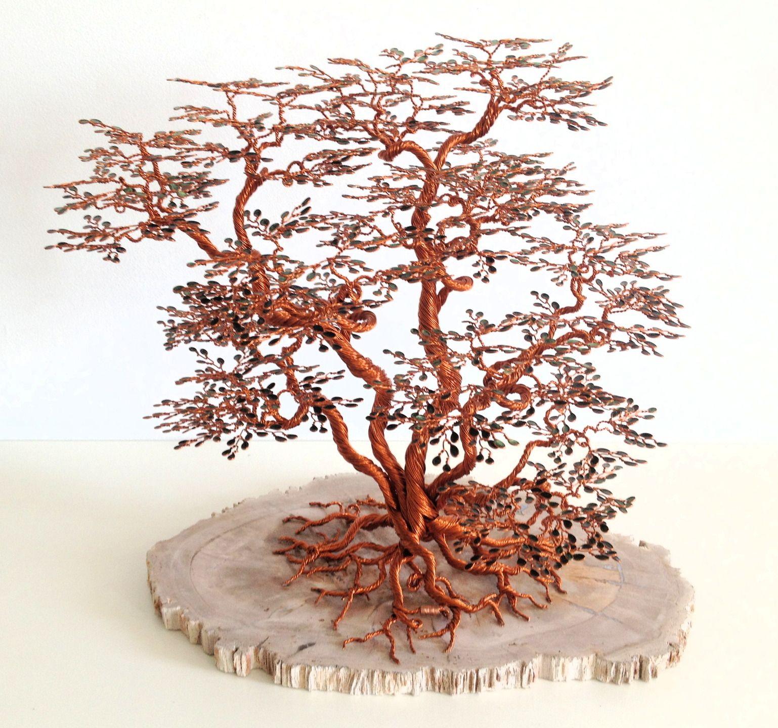 sculpture arbre de vie kabudachi en cuivre perles de rocaille 3d pinterest arbre de vie. Black Bedroom Furniture Sets. Home Design Ideas