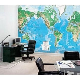 World map dry erase wall mural great for kids rooms playrooms world map dry erase wall mural great for kids rooms playrooms office your family can mark spots travelled to or dream to travel to gumiabroncs Choice Image