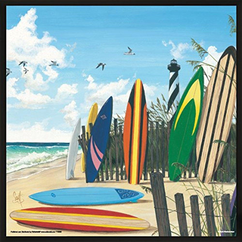 Scott Westmoreland Surf Boards Surfing Decorative Art Poster Print ...