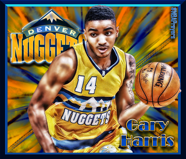 Nba Player Edit Gary Harris Nba Players Nba Denver Nuggets