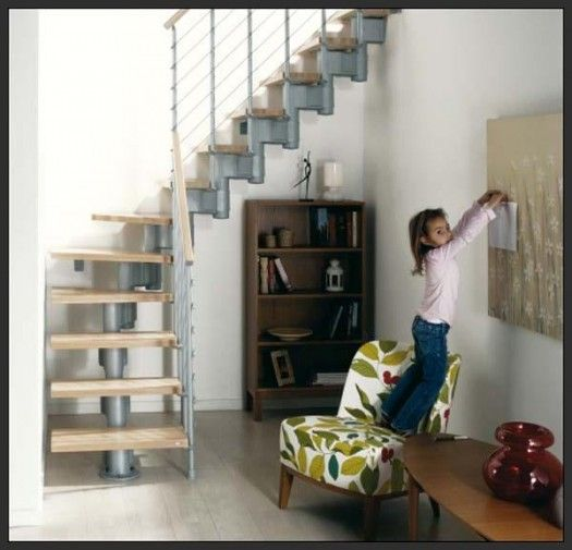 Modern Spiral Staircase Design Ideas For Small Spaces Home | Best Stairs For Small Spaces | Real Simple | Clever | Table Convert | Space Saving | Attic