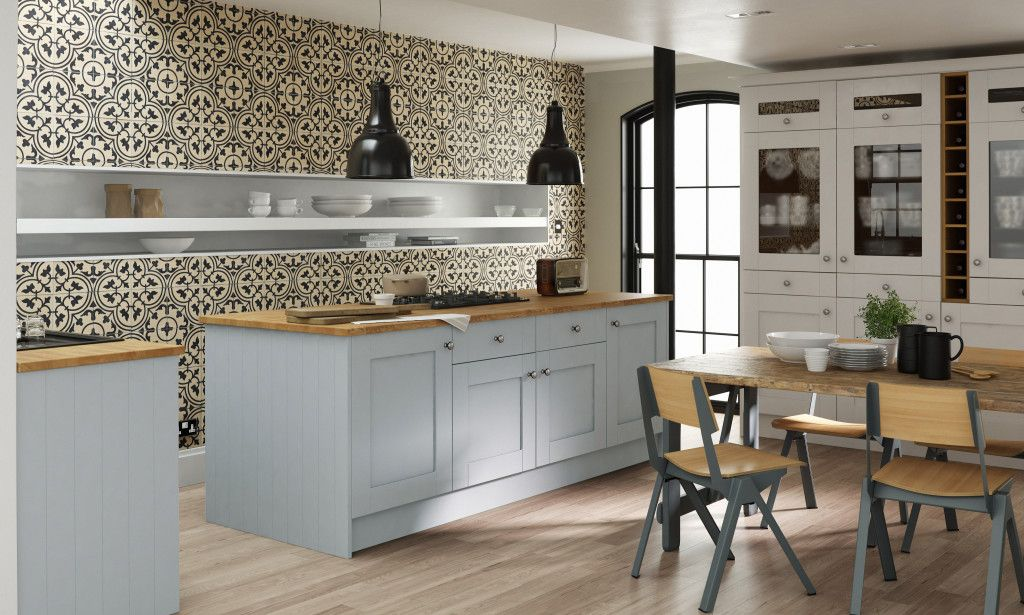 Modern Country By Linda Barker At Wren Kitchens Modern Country Wrens And Kitchens