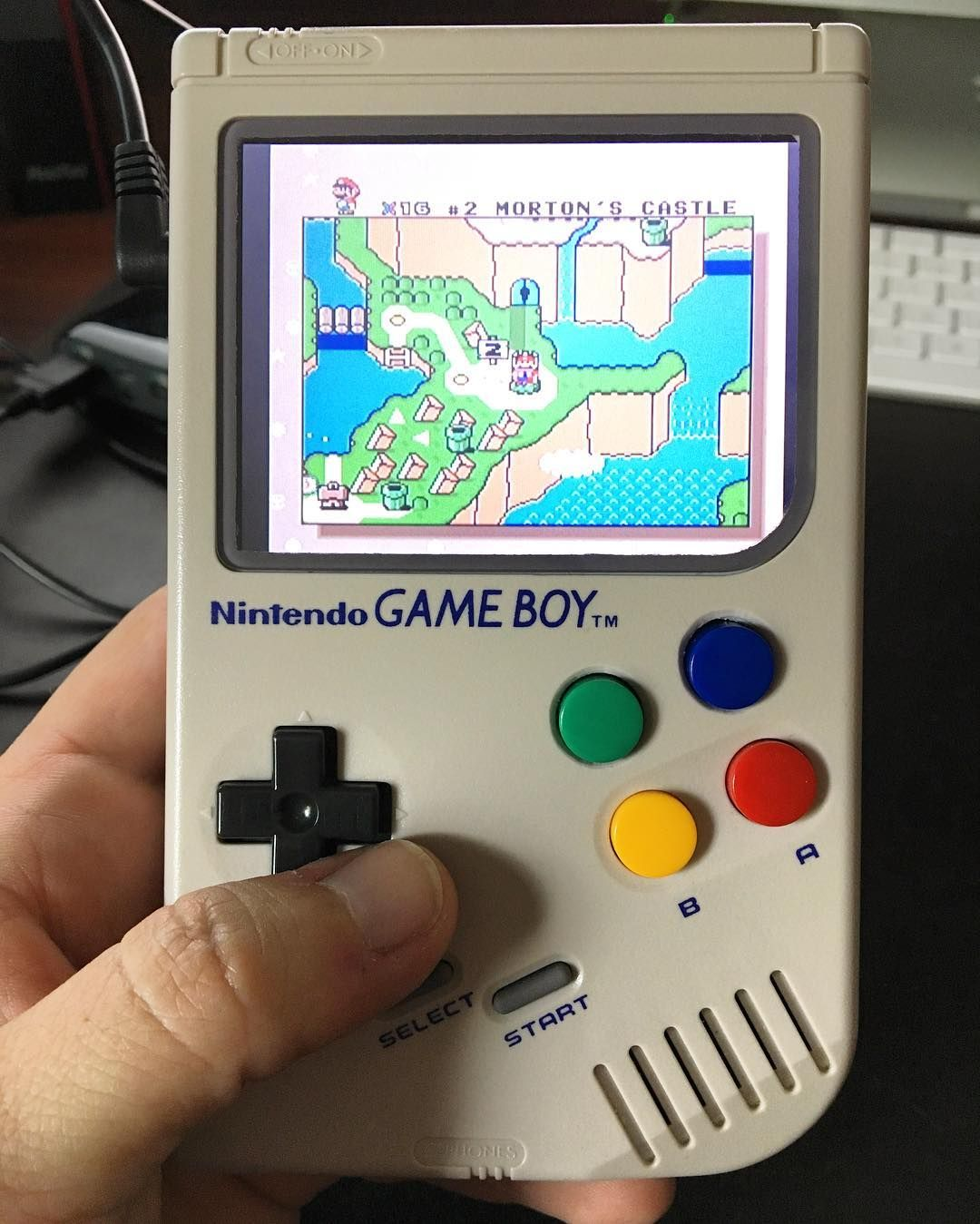 Behold the GameBoy Zero! A Raspberry Pi Zero-powered