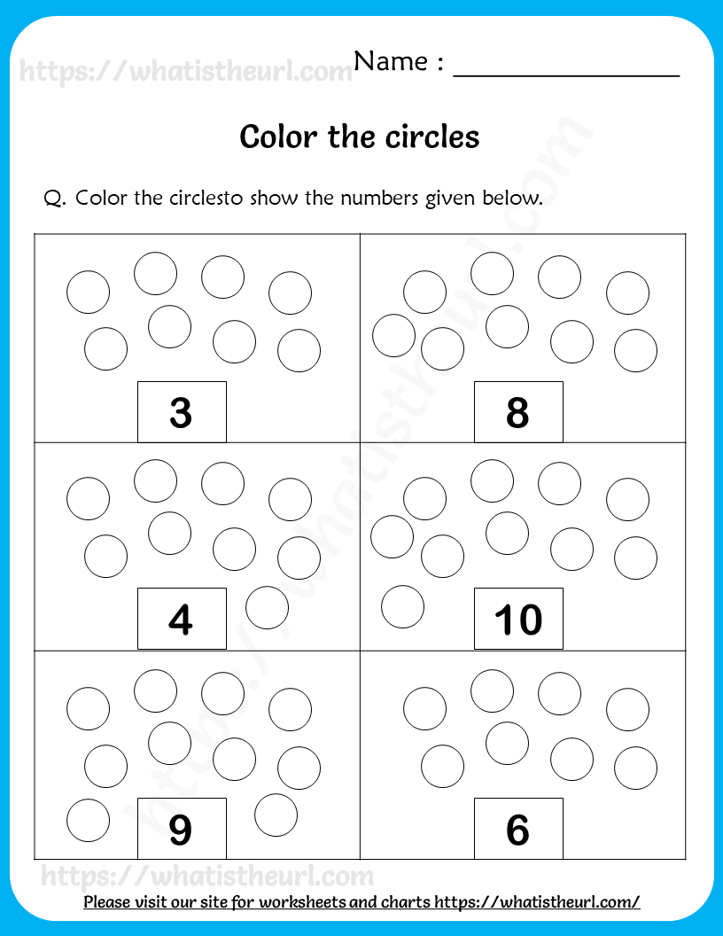 Count And Color Worksheets For Grade 1 1st Grade Worksheets Color Worksheets Worksheets [ 1056 x 816 Pixel ]