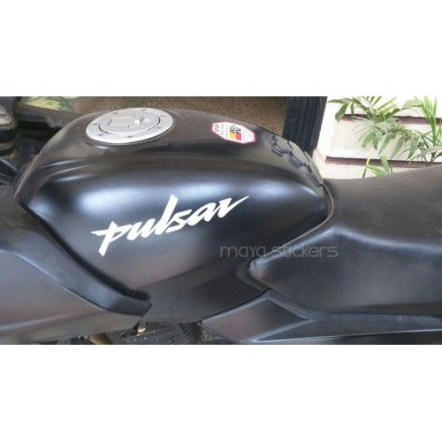 Pulsar Logo Sticker Buy Online India Car And Bike Stickers India - Custom vinyl decals india