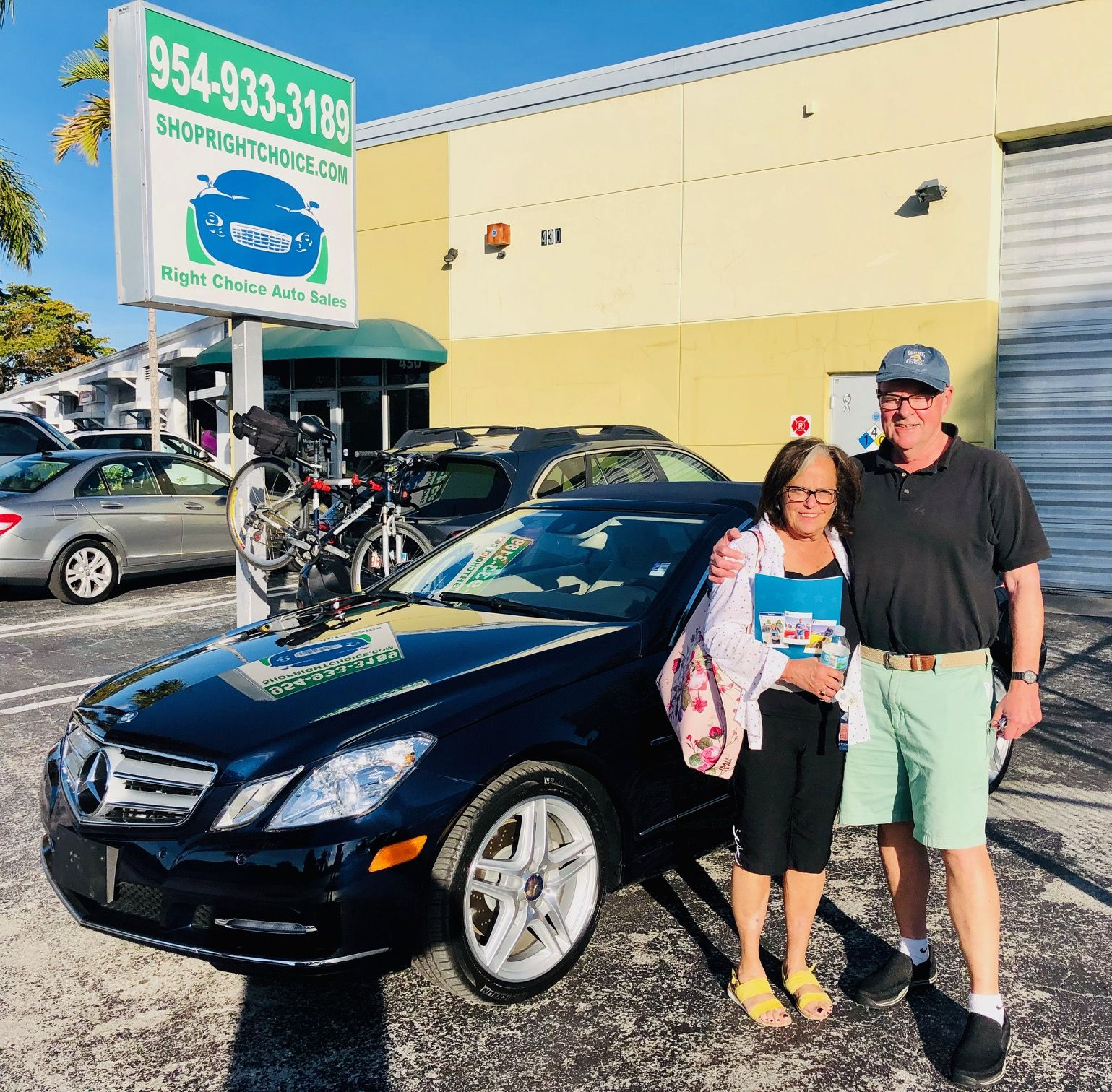 Susan And Jeff Saved 60 Of The Price Of A New Mercedes Benz E350 When They Bought This Incredible 2012 E350 Cabriolet With Pompano Beach Cars For Sale Pompano