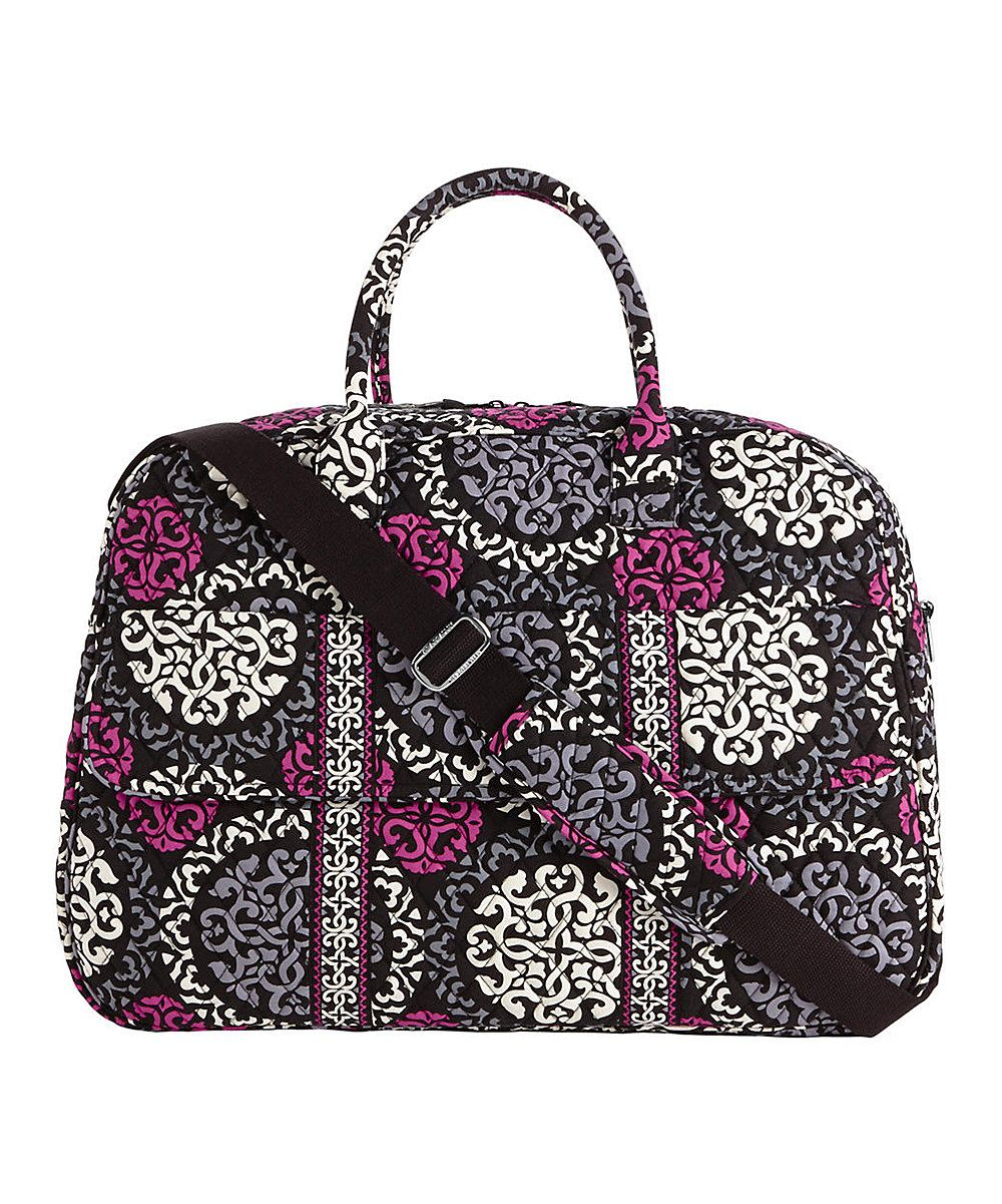 5ef9c4d40522 Vera Bradley Canterberry Cobalt Grand Traveler Bag