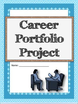 Career Portfolio Project  Cover Letter Resume High School