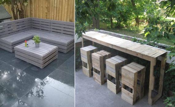 Großartig Upcycling U2013 Gartenmöbel Aus Europaletten